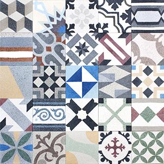 terrazzo patchwork